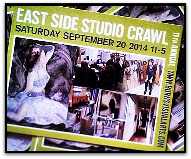 The Burns Visual Arts Society annual East Side Studio Crawl